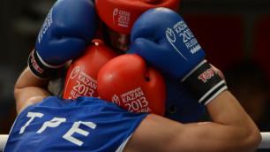 Казахстанский боксер вышел 1/4 финала на Универсиаде