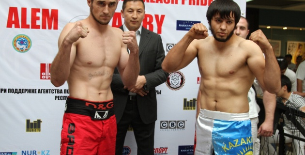 Бойцы Alash Pride выиграли рейтинговые поединки на турнире в Алматы