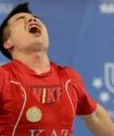 """Штангист завоевал первое """"золото"""" Универсиады для Казахстана (+фото)"""