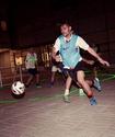 Футбол на лазерном поле