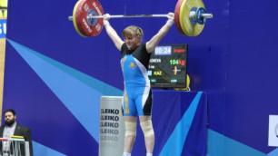 Казахстанская тяжелоатлетка стала серебряной призеркой Универсиады