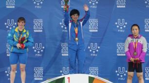 """Казахстанская штангистка назвала """"серебро"""" Универсиады самой дорогой медалью"""