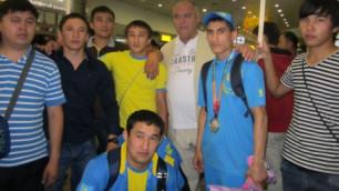 Призеров Универсиады чествовали в Казахской академии спорта и туризма