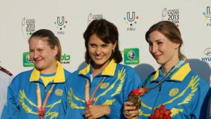 Казахстанская спортсменка выиграла Универсиаду после декретного отпуска