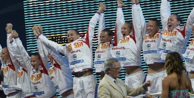 Российские синхронистки завоевали все золото ЧМ в Барселоне