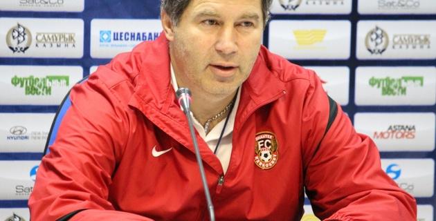 """Кумыков считает """"Шахтер"""" и """"Скендербеу"""" командами одного уровня"""