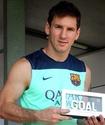 Лионель Месси признан лучшим футболистом сезона (+видео)