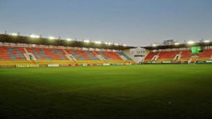 В Актобе не будут строить новый стадион