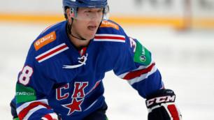 Даллмэн поучаствовал в разгроме СКА на турнире в Финляндии