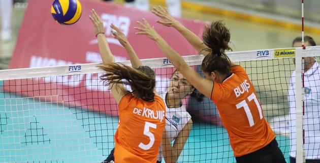 Голландские волейболистки нанесли Кубе девятое поражение в Мировом Гран-при