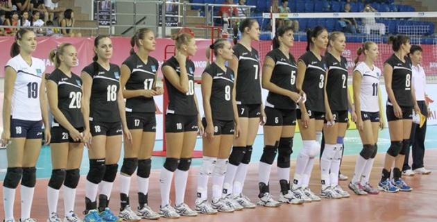Казахстанские волейболистки проиграли Бразилии на этапе Мирового Гран-при в Алматы