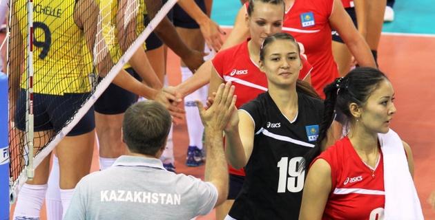 Казахстанские волейболистки заняли 17-е место на мировом Гран-при