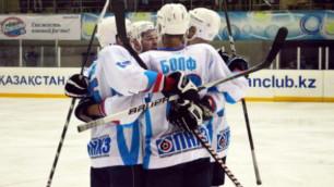 Определились финалисты Кубка Казахстана по хоккею