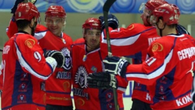 """""""Арлан"""" во второй раз в истории выиграл Кубок Казахстана по хоккею"""