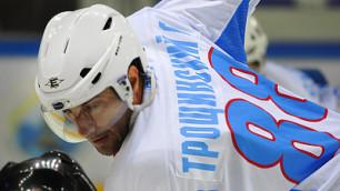 Трощинский сменил вторую команду за четыре месяца