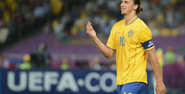 Гол Ибрагимовича на первой минуте принес Швеции победу над Казахстаном