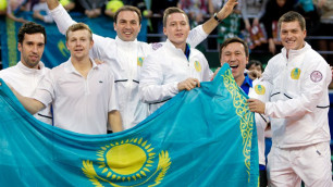 Казахстан сохранил позицию в рейтинге Кубка Дэвиса