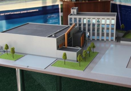 Макет будущей академии. Фото Vesti.kz©