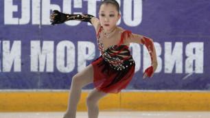 Казахстанская фигуристка заняла второе место на этапе юниорского Гран-при