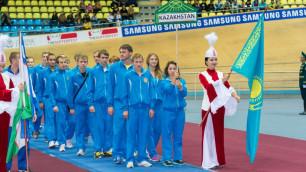 Казахстанские пятиборцы завоевали бронзовые медали на домашнем чемпионате Азии