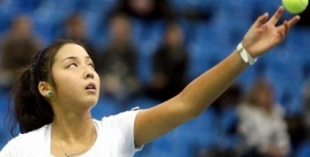 Зарина Дияс вышла во второй круг квалификации турнира в Японии