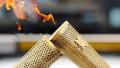 В Москве на несколько секунд погас олимпийский огонь