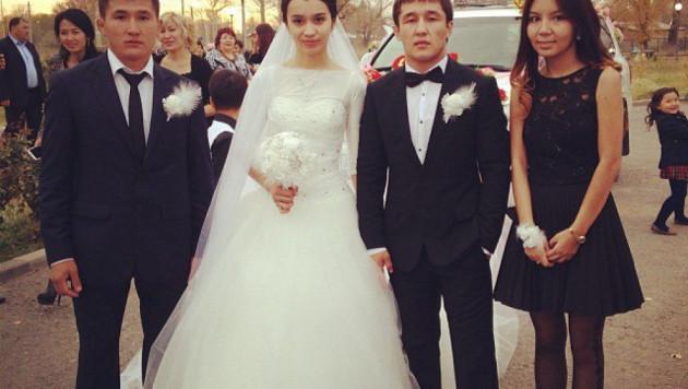 Призер чемпионата мира по борьбе Алмат Кебиспаев женился