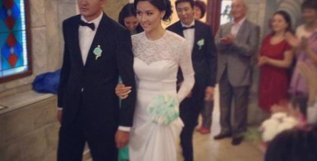 Одна из самых красивых волейболисток Казахстана вышла замуж