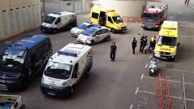 Взрыв на стадионе в Испании не помешает проведению отборочного матча ЧМ-2014