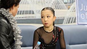 Фигуристка Элизабет Турсынбаева стала пятой на соревнованиях в Таллине