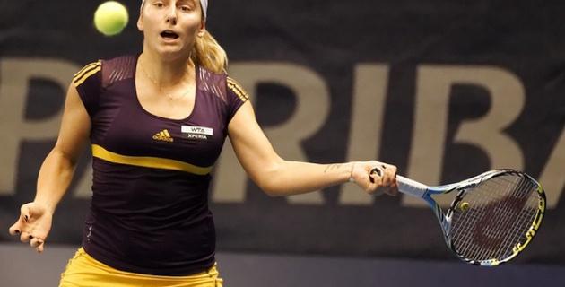 Теннисистка Первак проиграла первую официальную встречу под флагом России