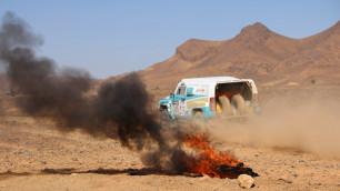 На ралли в Марокко завершился второй этап