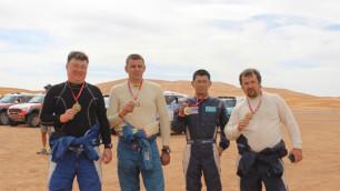 Все казахстанские экипажи добрались до финиша ралли в Марроко