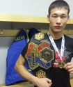 Казахстанец Рахманов стал чемпионом мира по смешанным единоборствам