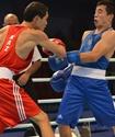 Биржан Жакыпов стал первым четвертьфиналистом чемпионата мира по боксу