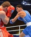 Жанибек Алимханулы одержал победу нокаутом на чемпионате мира по боксу