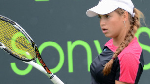 Казахстанская теннисистка потеряла семь позиций в рейтинге WTA