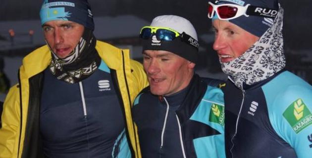 Казахстанские лыжники заняли 16-е место в эстафете на этапе КМ в Норвегии