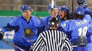 Хоккеисты Казахстана вышли в полуфинал Универсиады