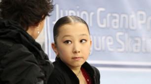 Фигуристку Турсынбаеву сняли с чемпионата Казахстана не из-за возраста
