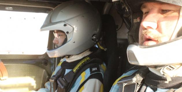 Казахстанский экипаж снова оказался в тройке сильнейших на этапе Africa Eco Race