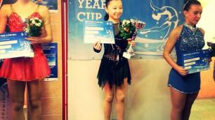 Победа на турнире в Братиславе существенно улучшит рейтинг фигуристки Турсынбаевой