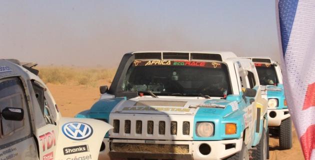Оба казахстанских экипажа успешно финишировали на ралли-марафоне Africa Eco Race