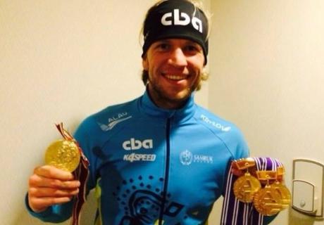 Дмитрий Бабенко. Фото с личной страницы спортмена в Фейсбук