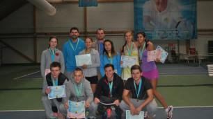 Определились победители зимнего чемпионата Казахстана по теннису