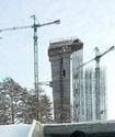 В Щучинске строят опасный для жизни спортсменов трамплин