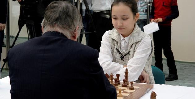 В шахматной академии Жансаи Абдумалик прошел первый турнир