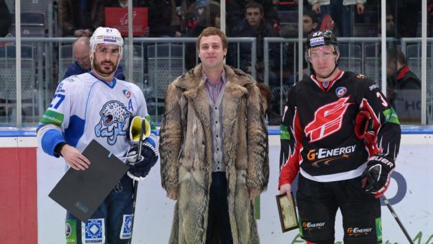 Боченски повторил свой снайперский рекорд в КХЛ