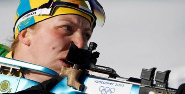 Елена Хрусталева выиграла спринт на чемпионате Азии по биатлону