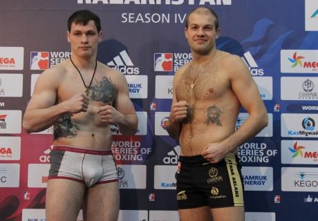 Алексей Егоров и Василий Левит (справа). Фото Vesti.kz©